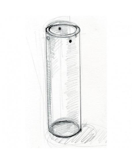 Saftbehälter Acrylglas - Eiswürfelzylinder 8 cm