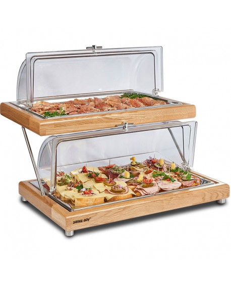 Kühlplatte Rolltop 2-teilig