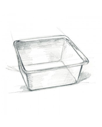 Acrylglas - Körnereinsatz