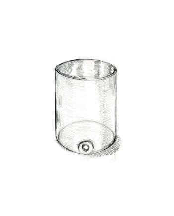 Acrylglas - Fruchtsaftbehälter