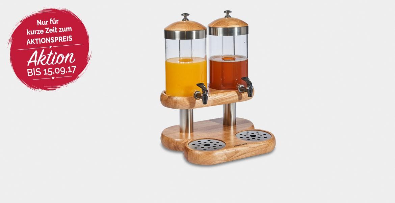 Getränkespender 2-teilig