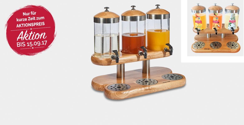 Getränkespender 3-teilig